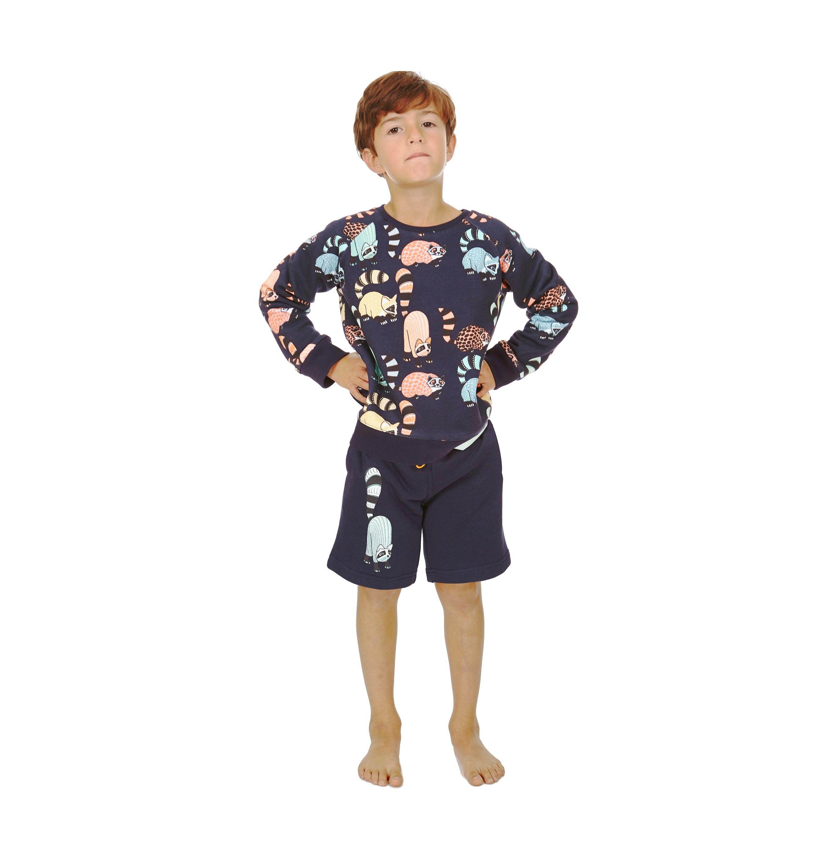 Reverisble Sweatshirt Oaxacan AOP + Shorts Oaxacan