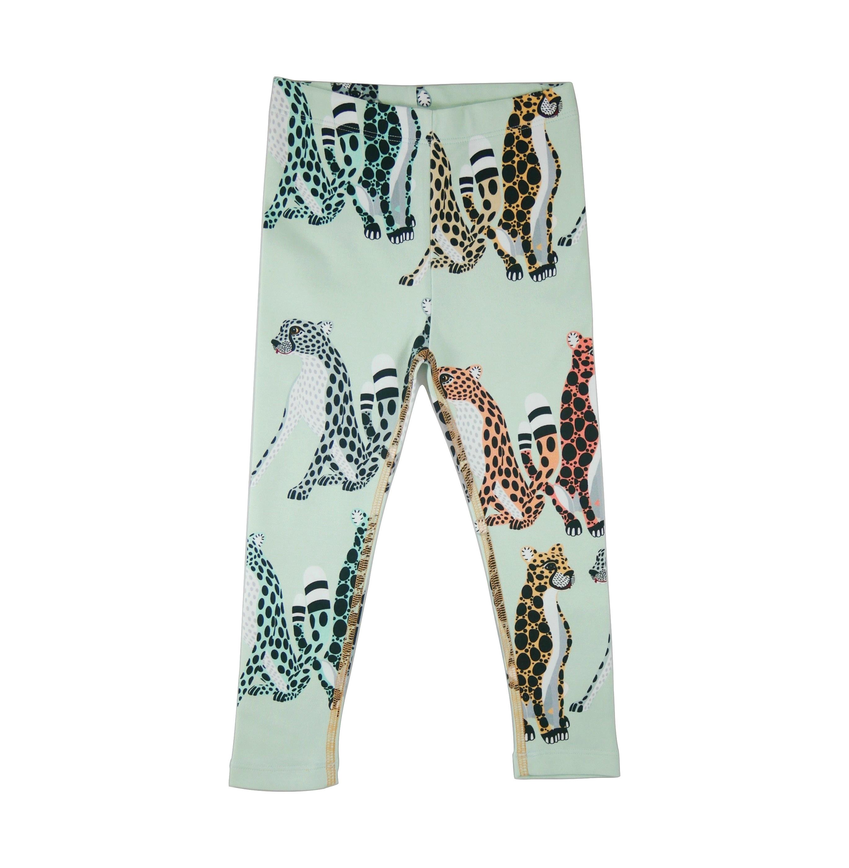 19SSLC Leggings Cheetahs AOP