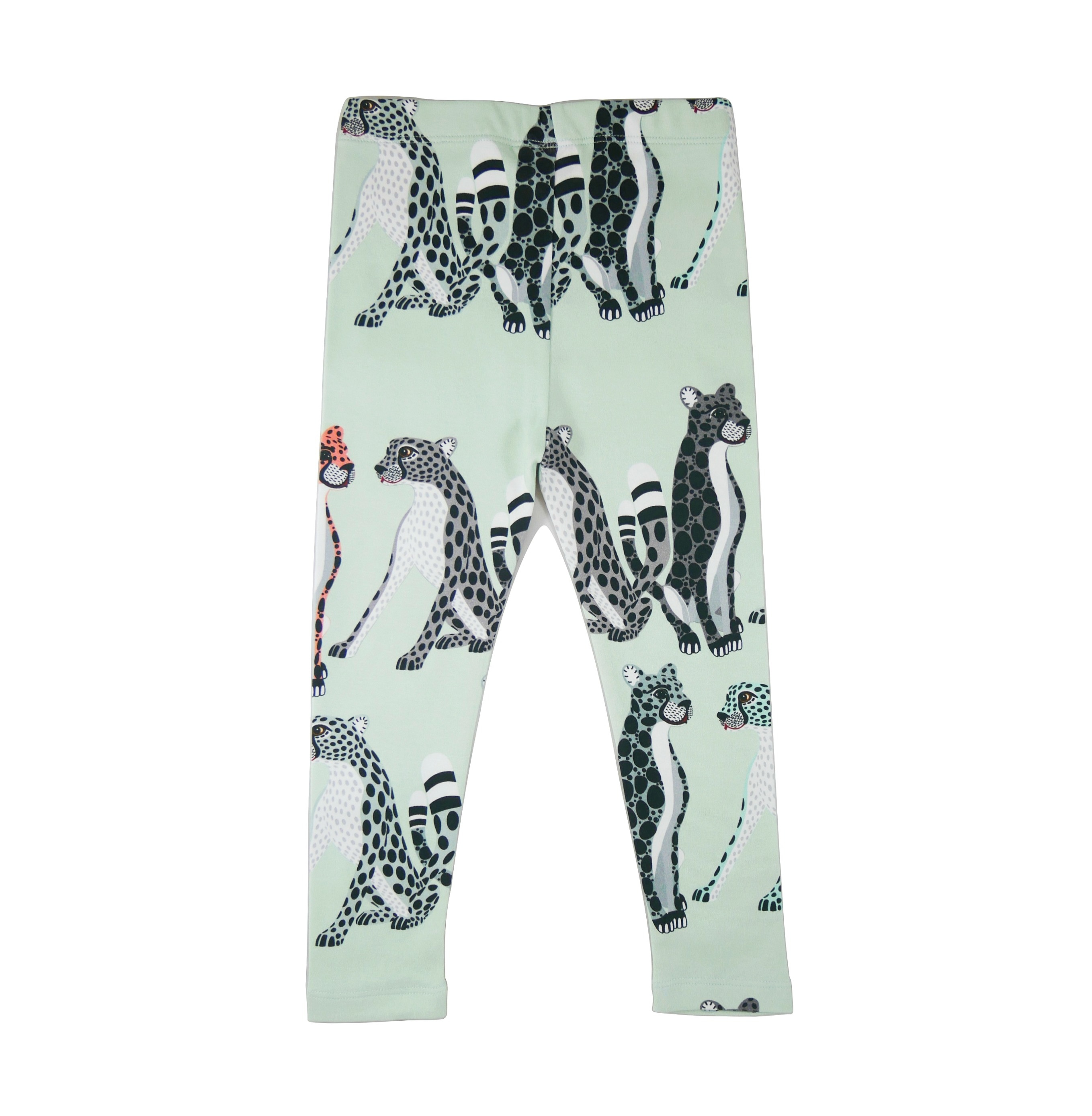 19SSLC Leggings Cheetahs AOP back