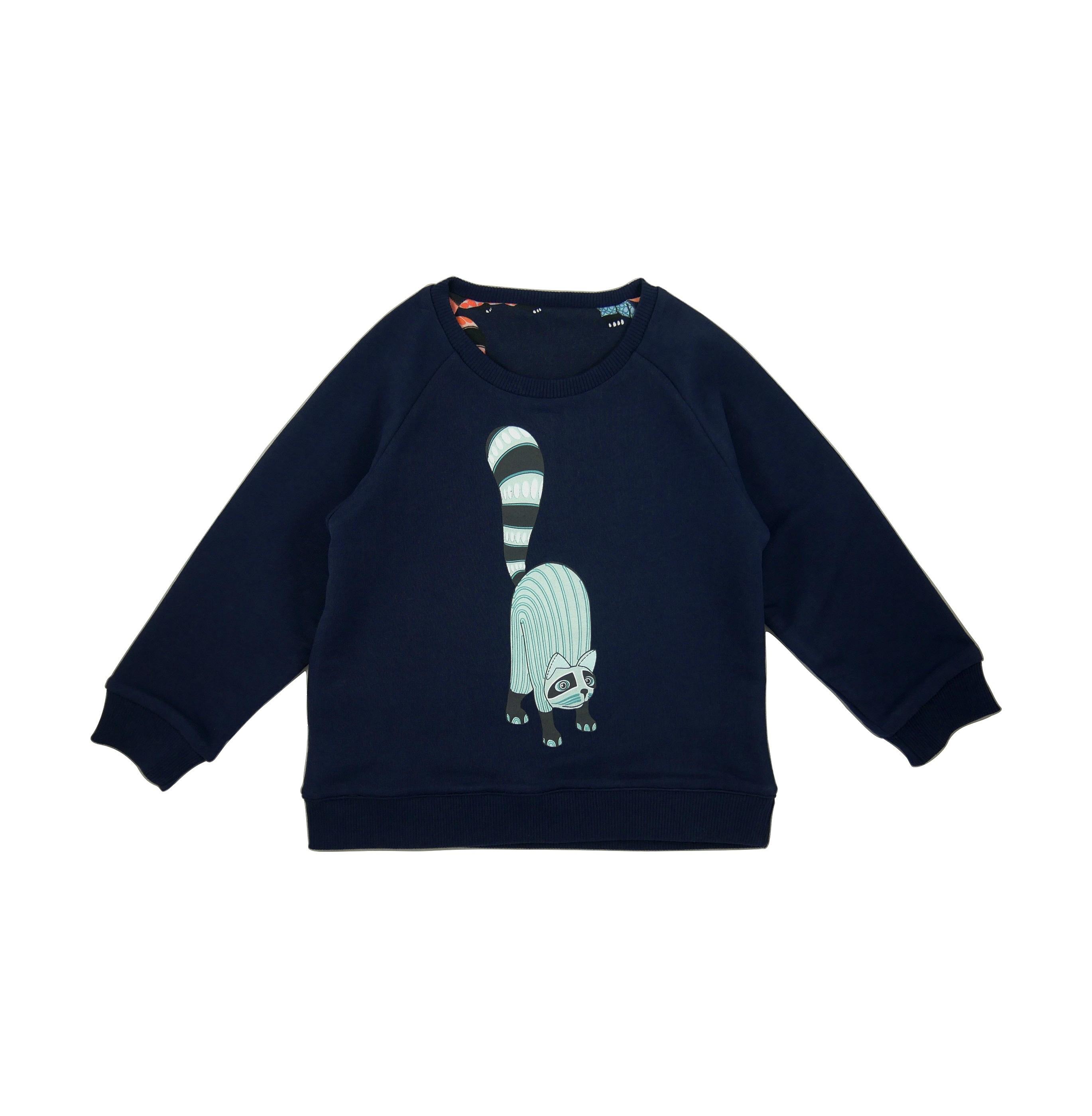 19SSRSO Reversible Sweatshirt Oaxacan Single print side
