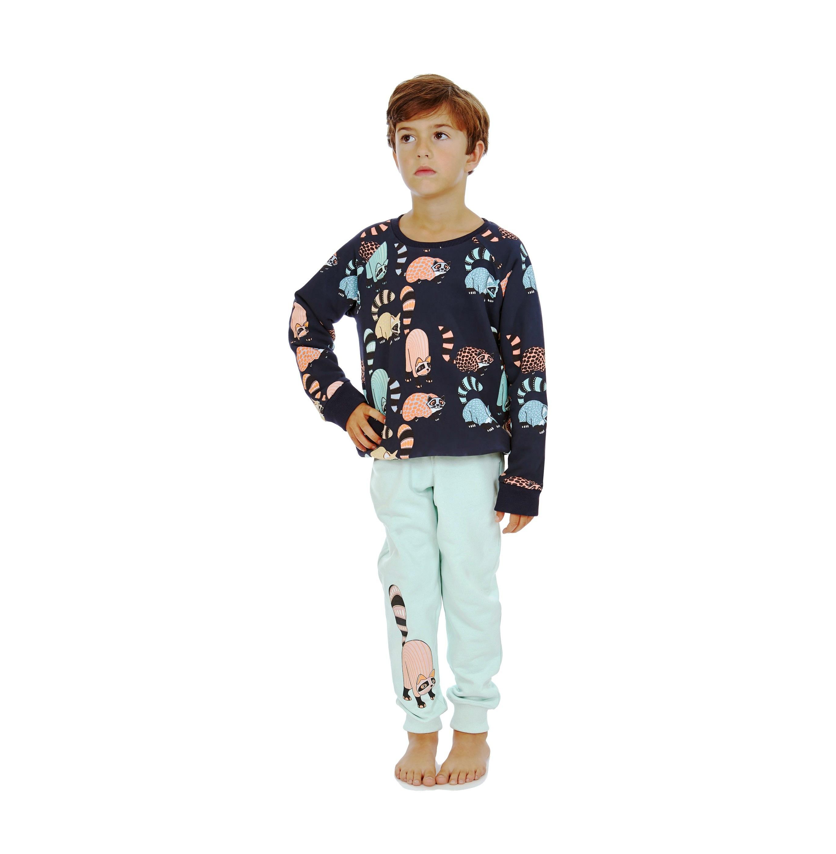 Reverisble Sweatshirt Oaxacan AOP + Sweatpants Oaxacan Print