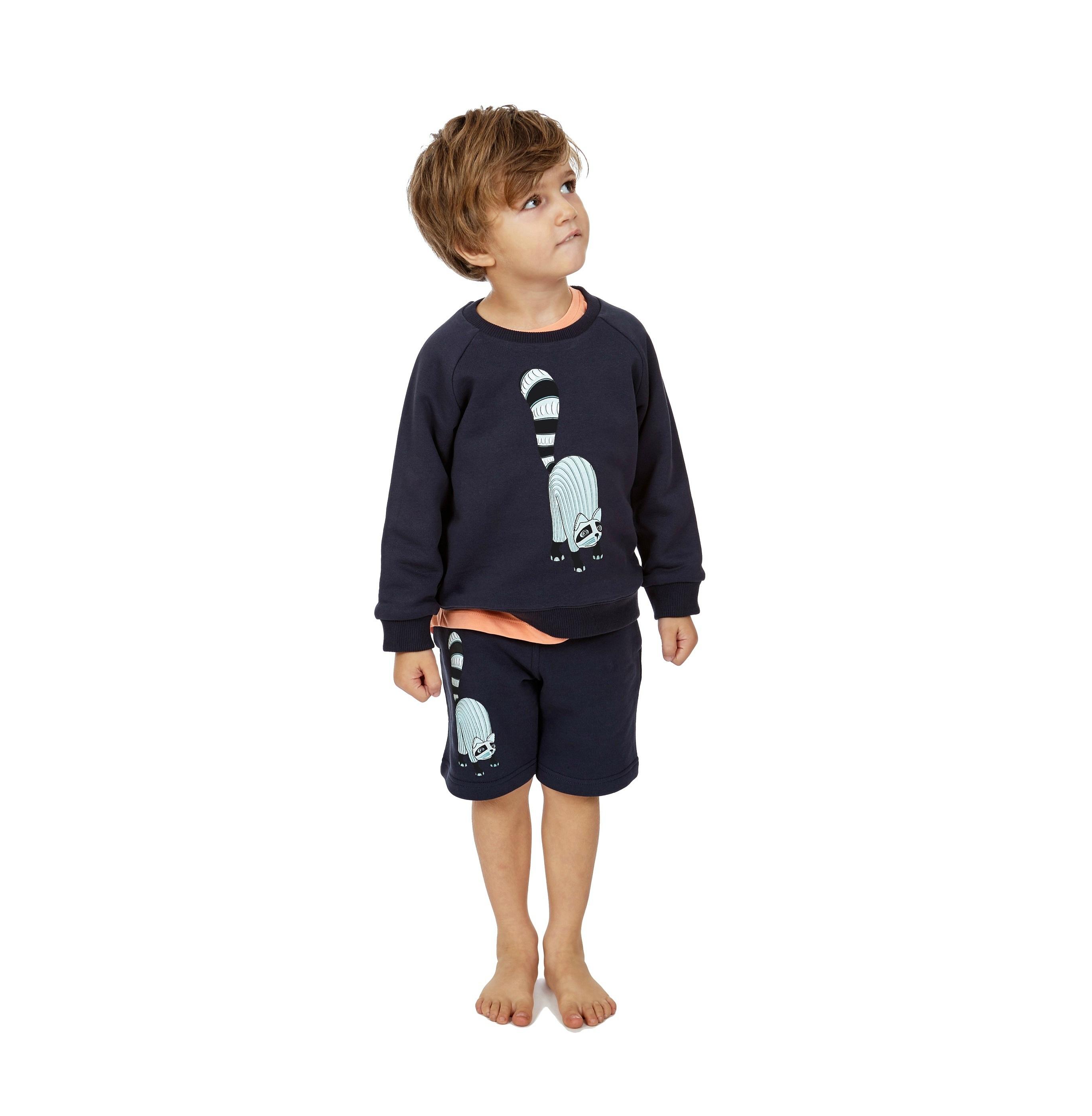 Reverisble Sweatshirt Oaxacan solitary + Shorts Oaxacan - kopia