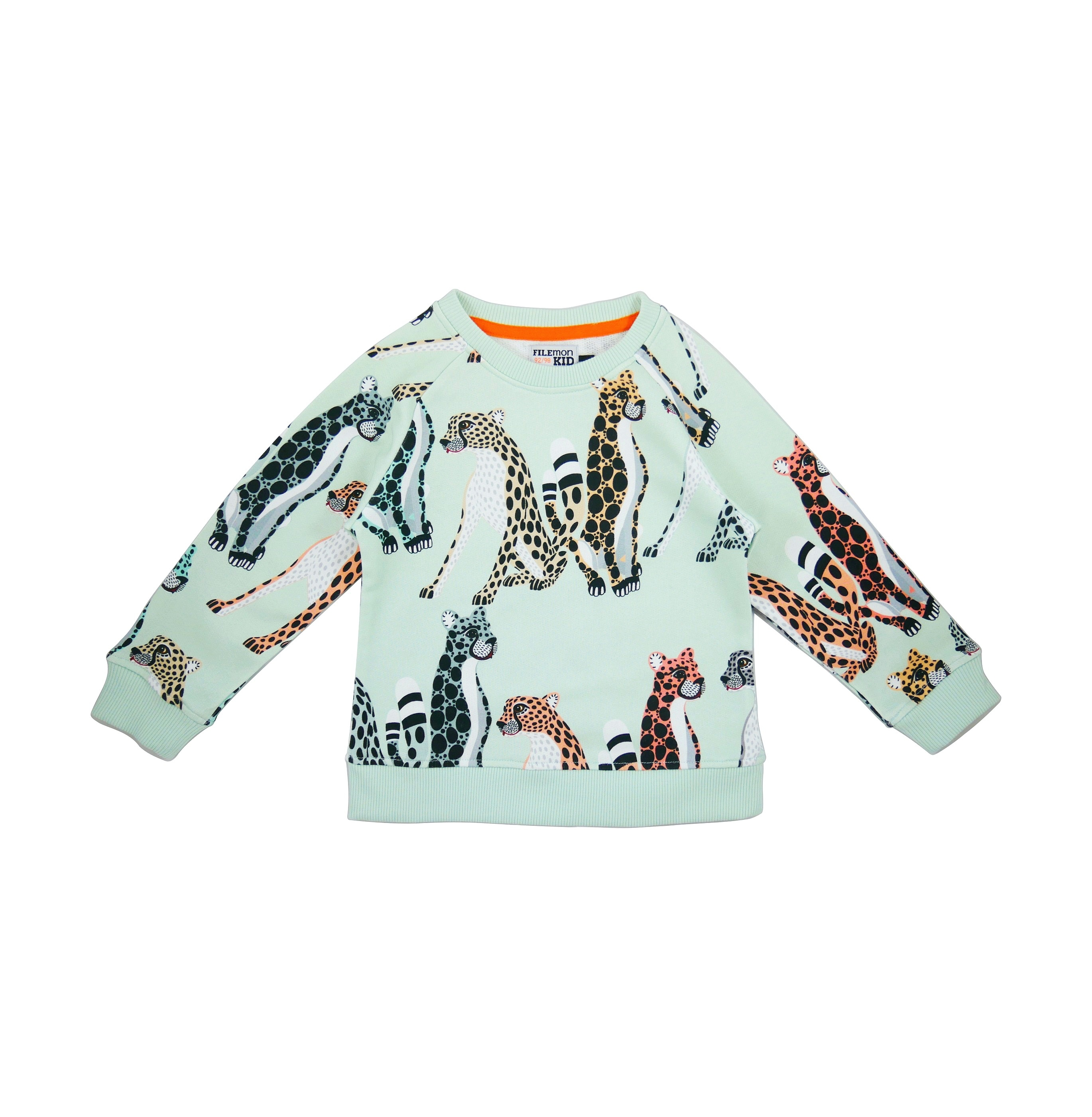 19SSSC Sweatshirt Cheetahs AOP