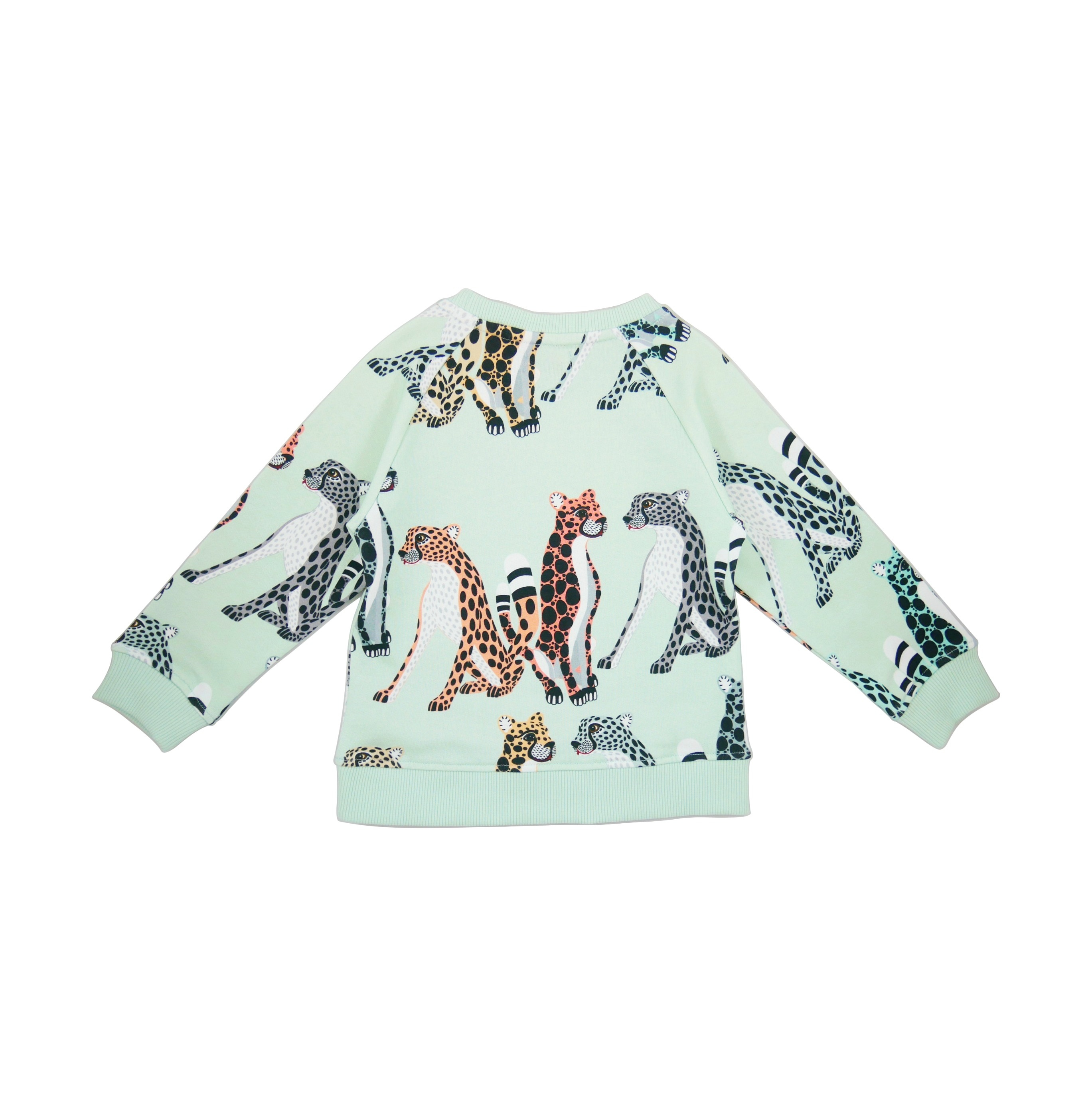 19SSSC Sweatshirt Cheetahs AOP back