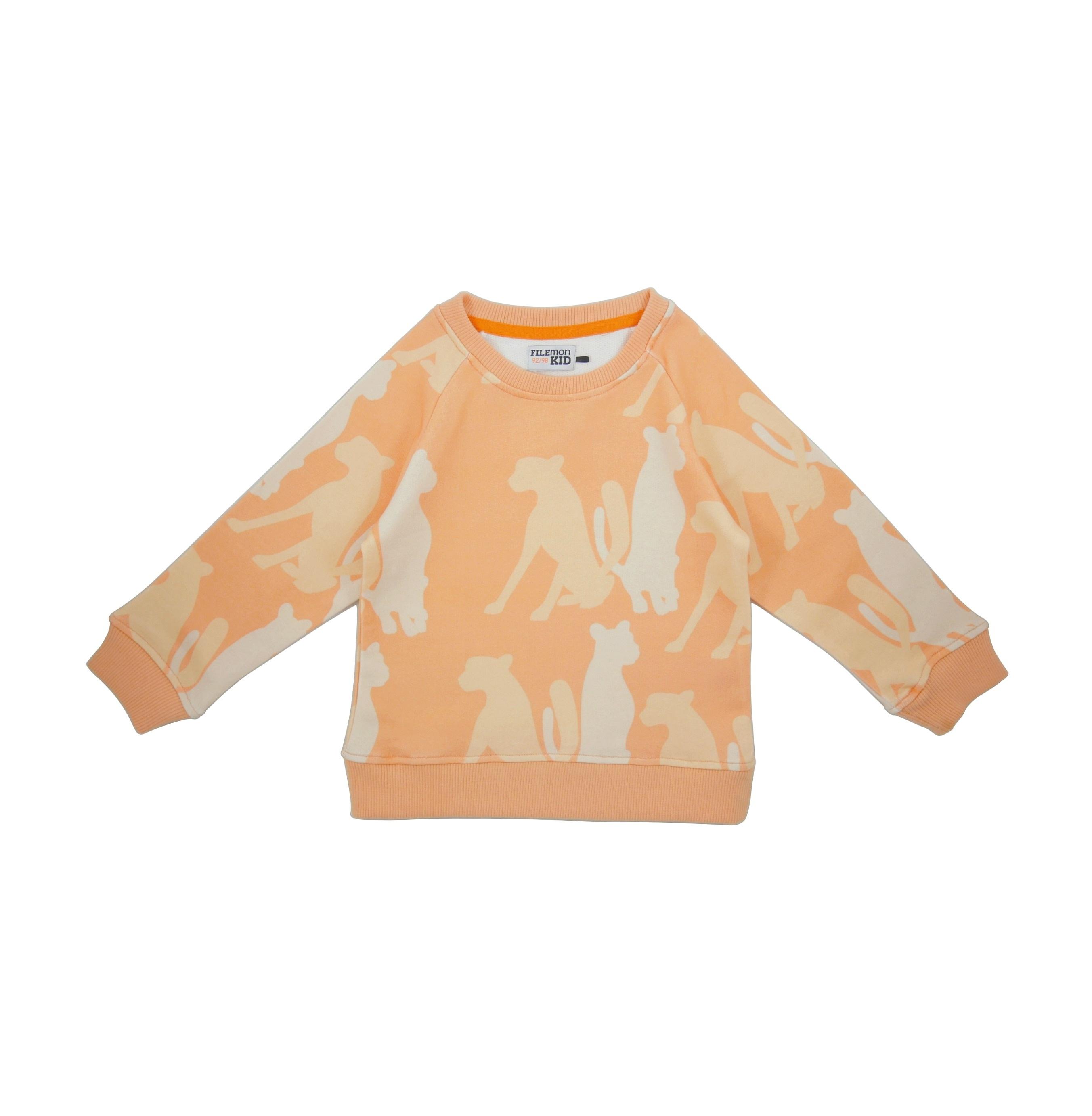 19SSSS Sweatshirt Cheetah Silouette