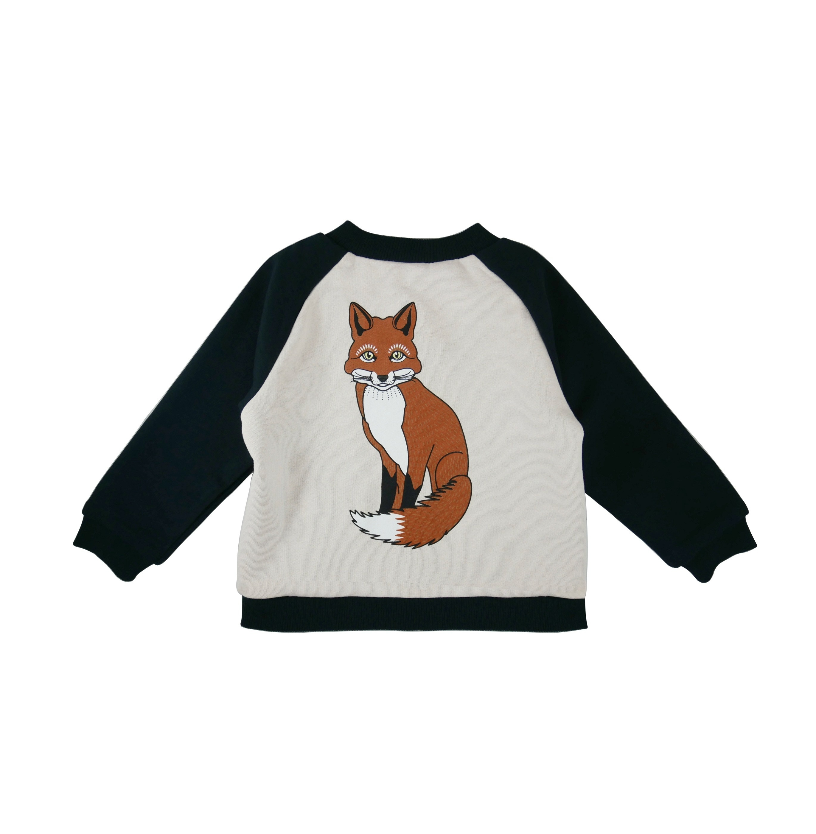 Baseball Jacket Fox back
