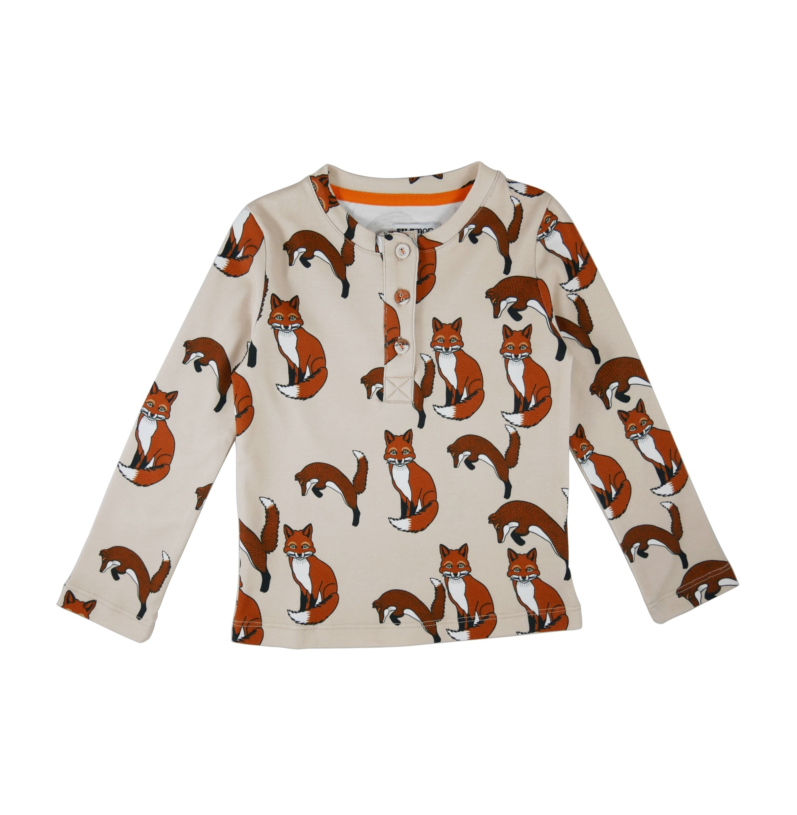 Long sleeve t-shirt Foxes AOP