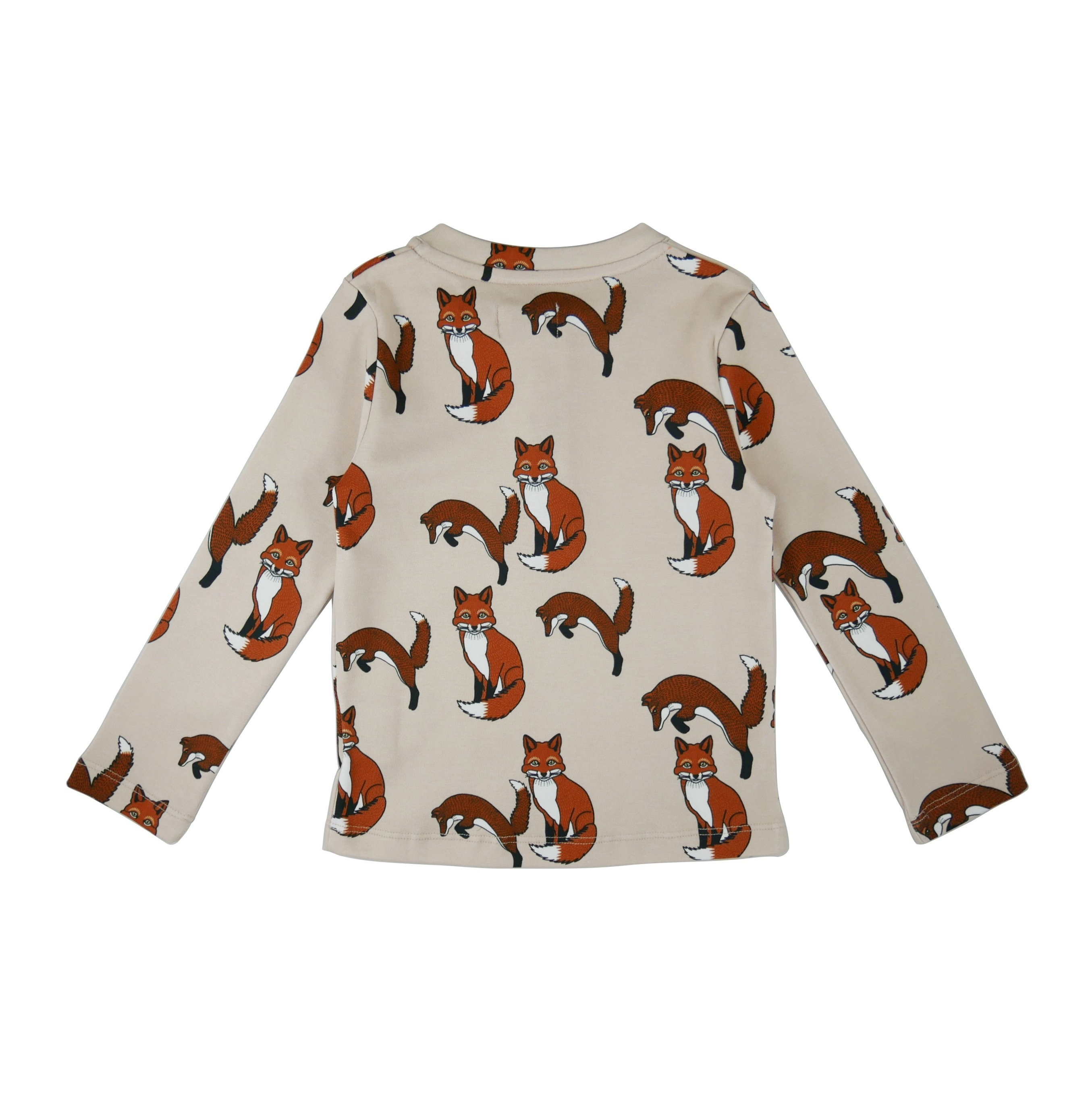 Long sleeve t-shirt Foxes AOP back