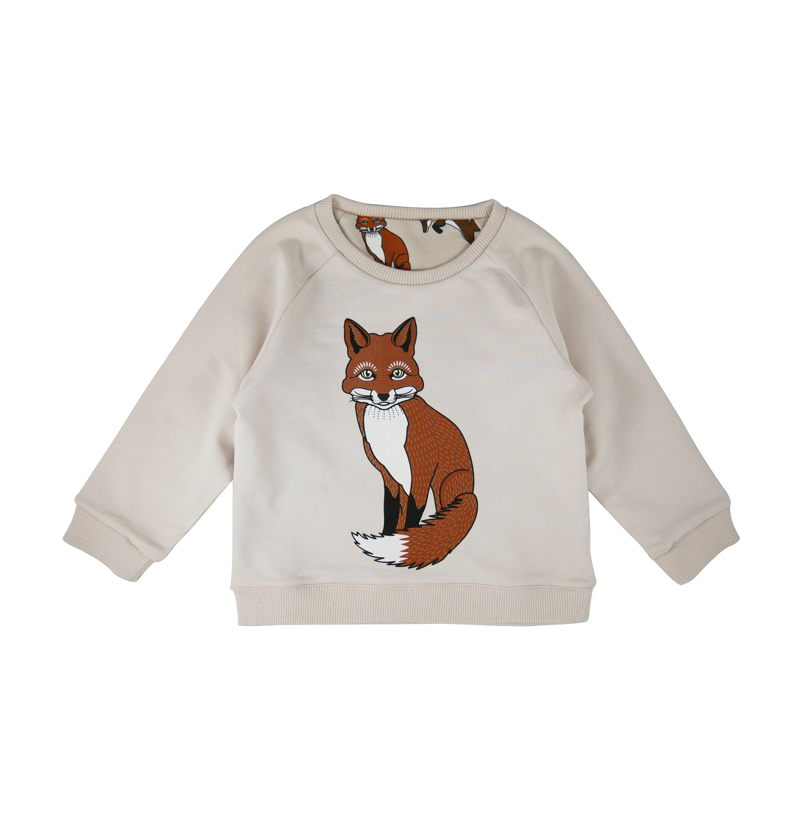 Reversible sweatshirt Fox Solitary side