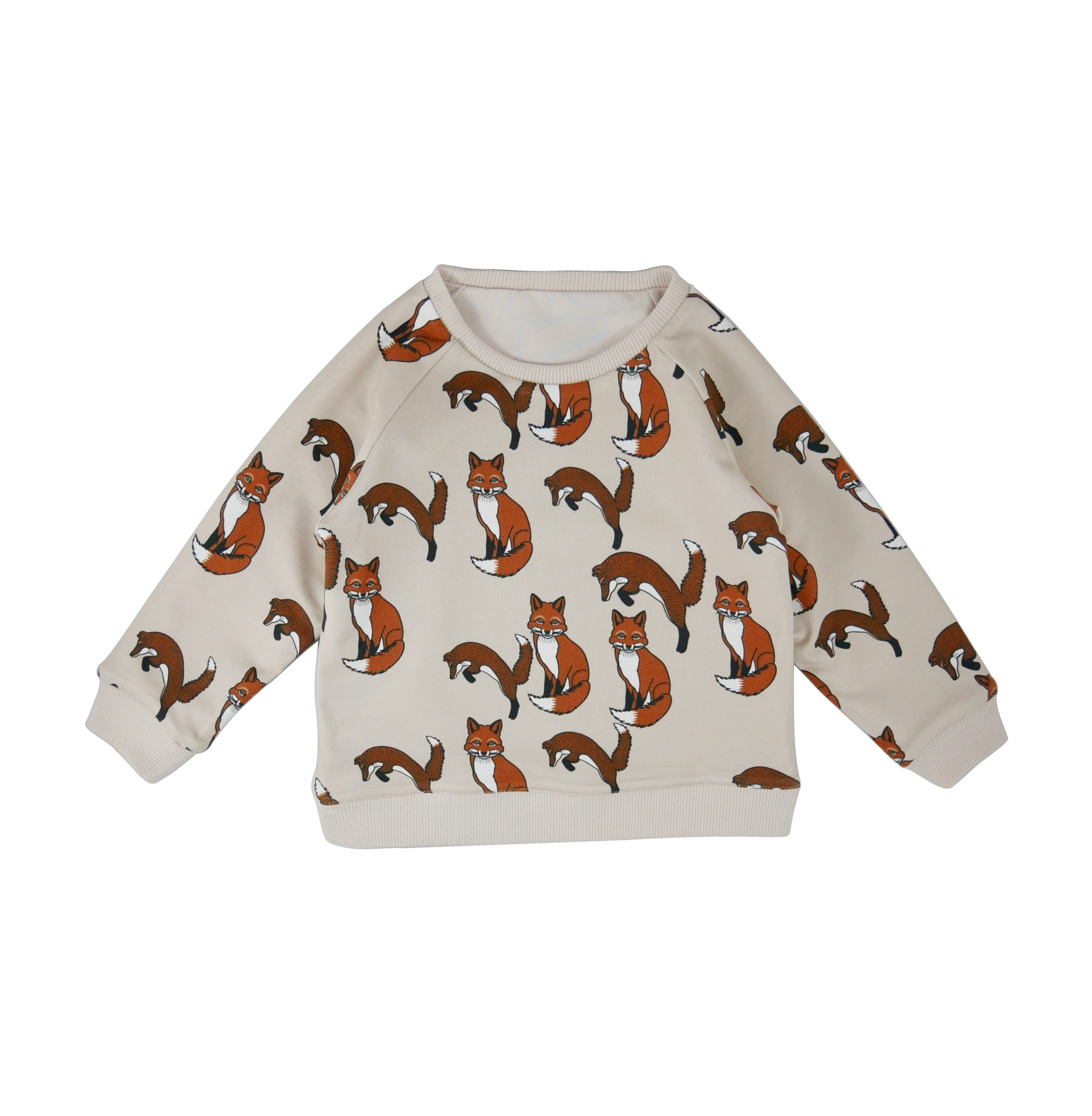 Reversible sweatshirt Fox AOP side