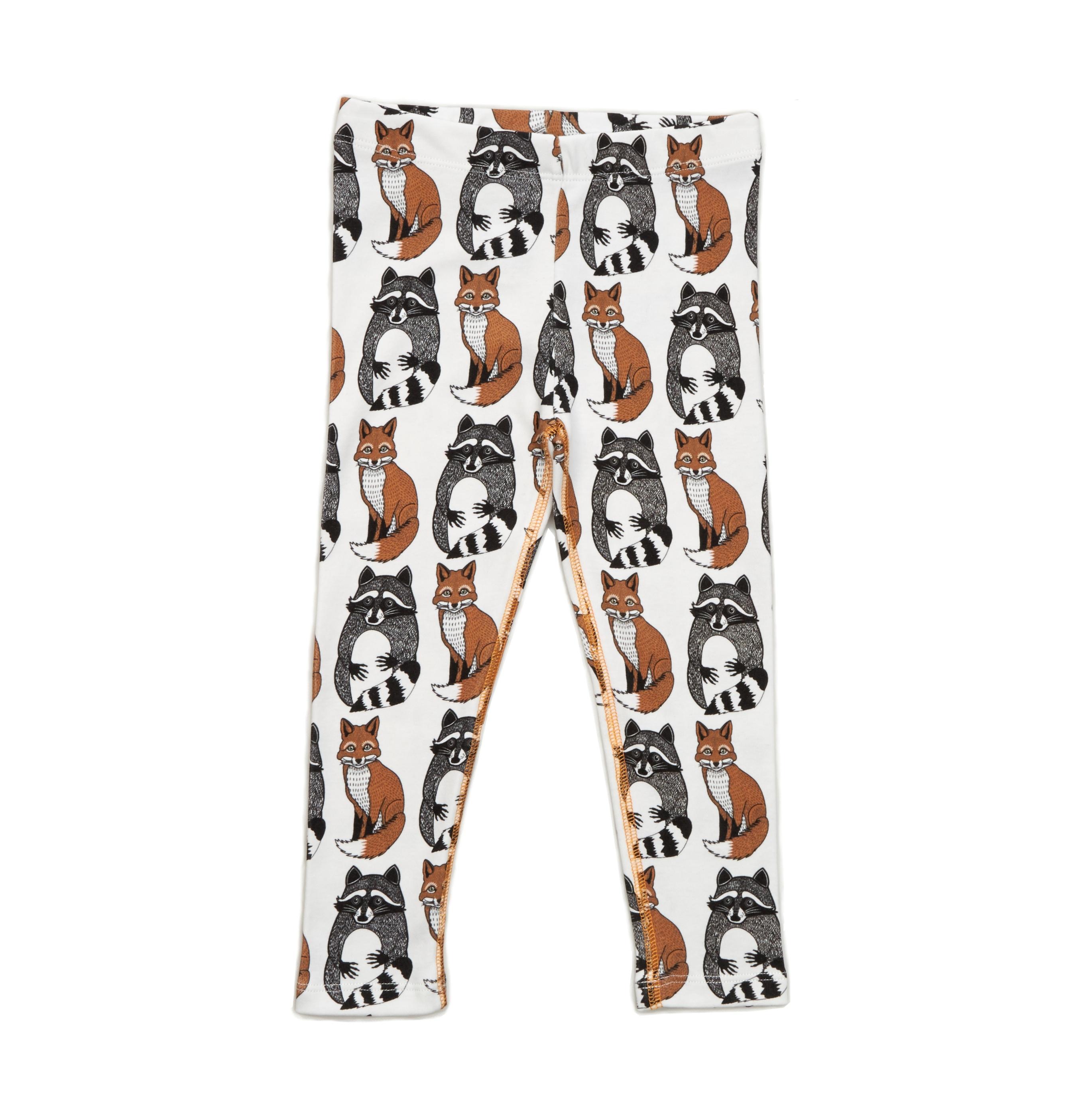 Leggings Foxes & Raccoons AOP