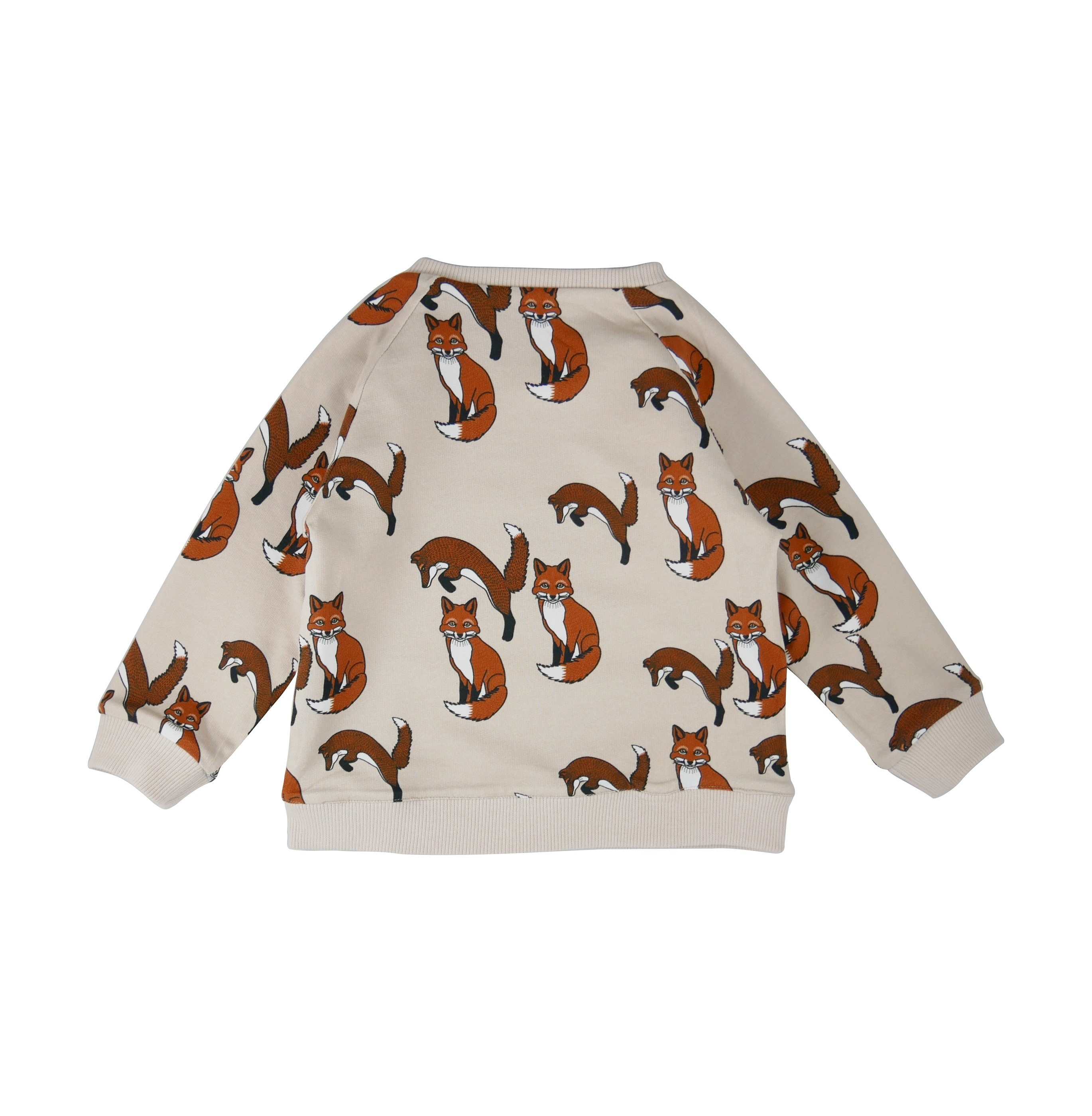 Reversible sweatshirt Fox AOP side back