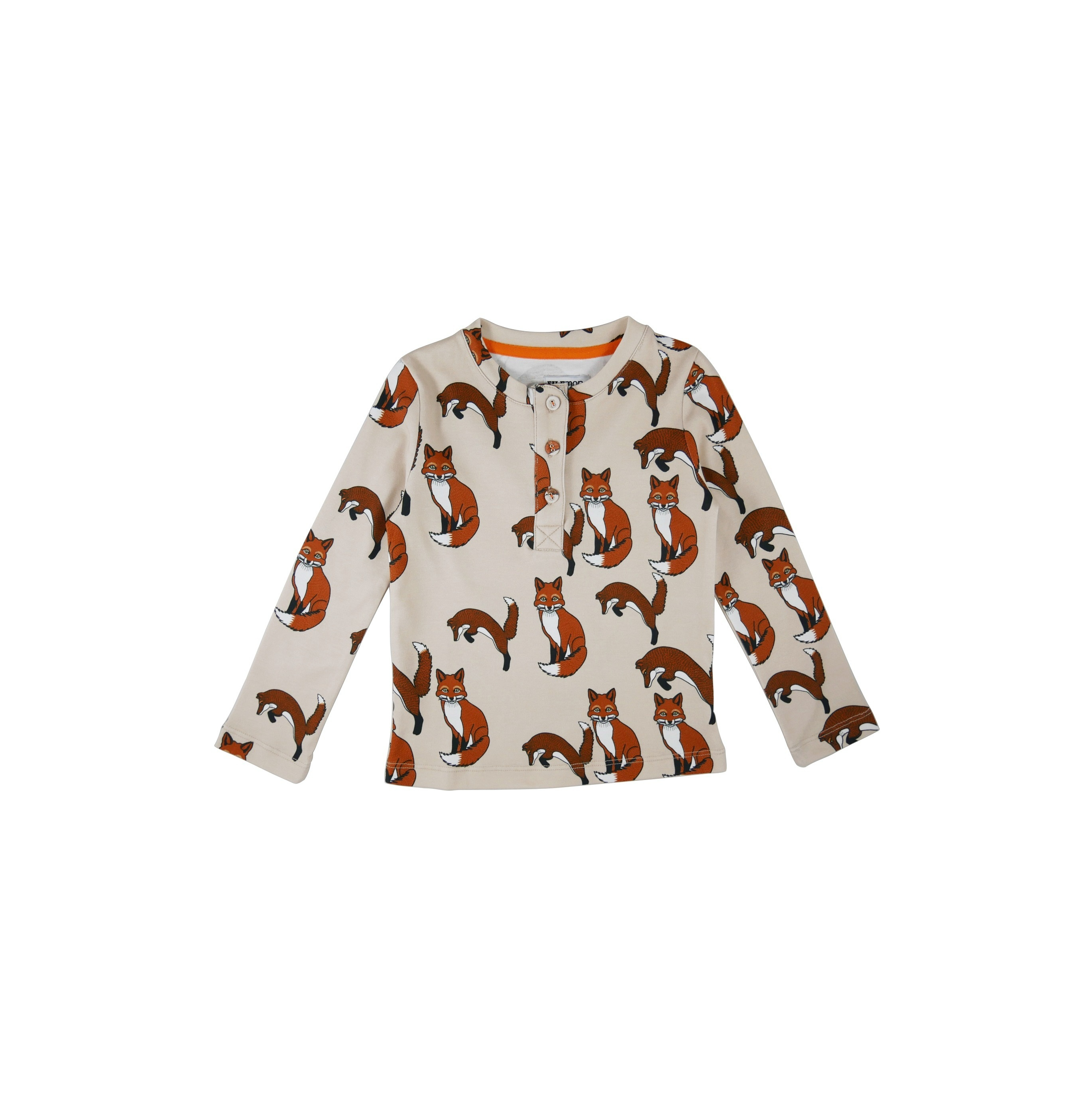 Long sleeve t-shirt Foxes AOP first