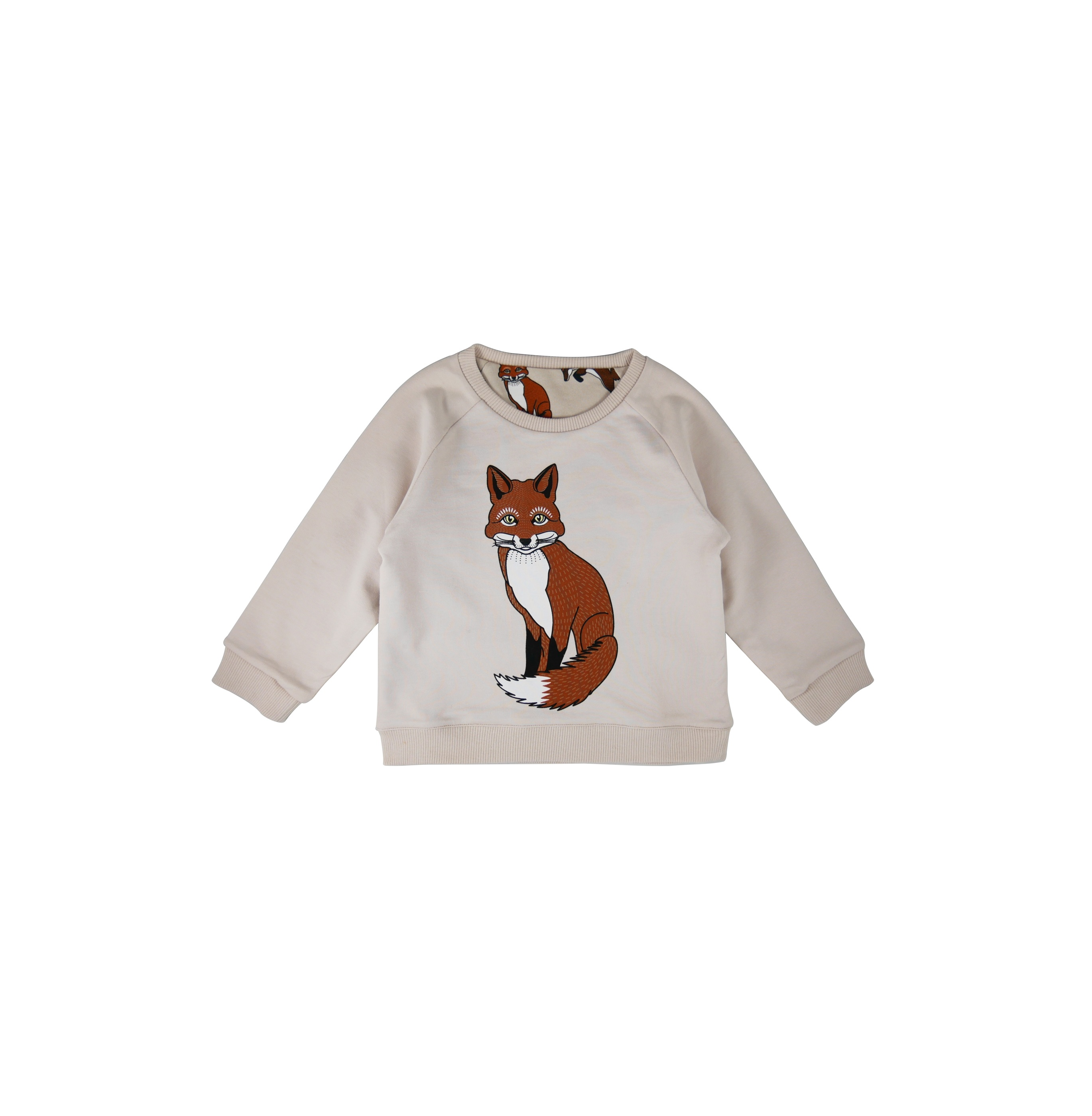 Reversible sweatshirt Fox Solitary side first